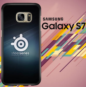 steelseries white logo Z3815 coque Samsung Galaxy S7