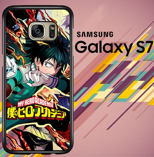 Boku No Hero Academia Z3911 coque Samsung Galaxy S7