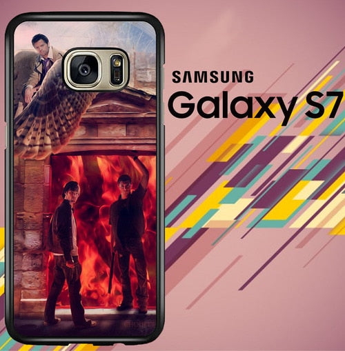 supernatural art Z4386 coque Samsung Galaxy S7