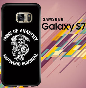 sons of anarchy redwood Z4388 coque Samsung Galaxy S7
