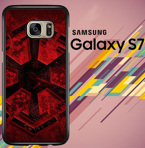 Star Wars Dark Side logo Z4532 coque Samsung Galaxy S7