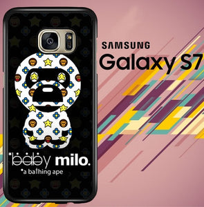 baby milo a bathing ape Z5224 coque Samsung Galaxy S7