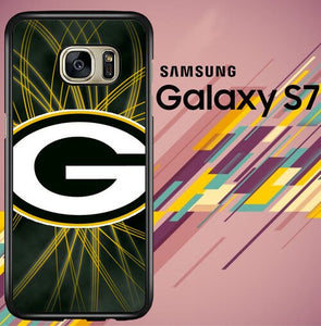 Green Bay Packers Logo Z5254 coque Samsung Galaxy S7