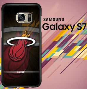miami heat Z5343 coque Samsung Galaxy S7