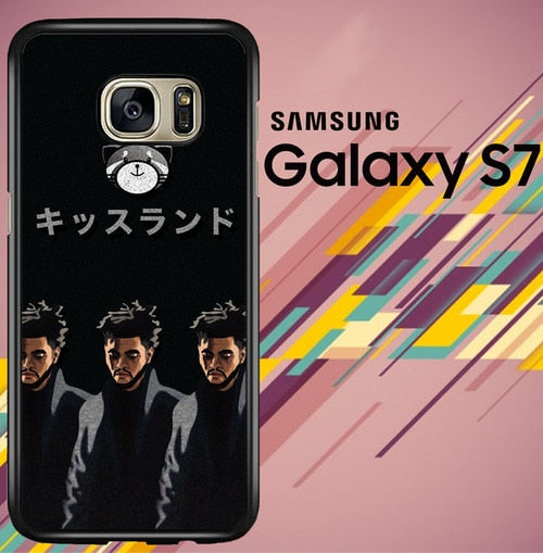 the weeknd xo Z7162 coque Samsung Galaxy S7
