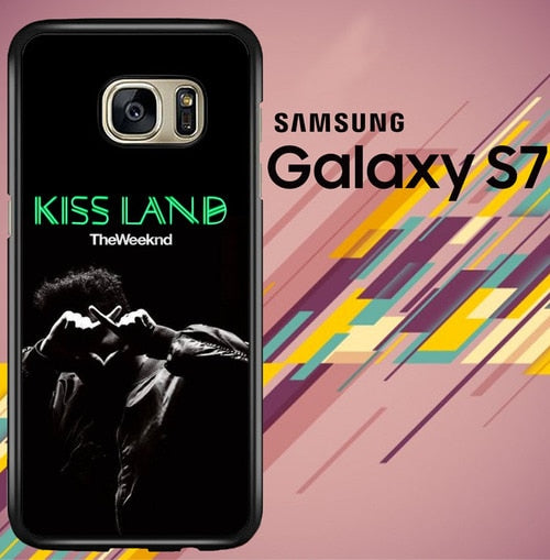 the weeknd kiss land Z7163 coque Samsung Galaxy S7