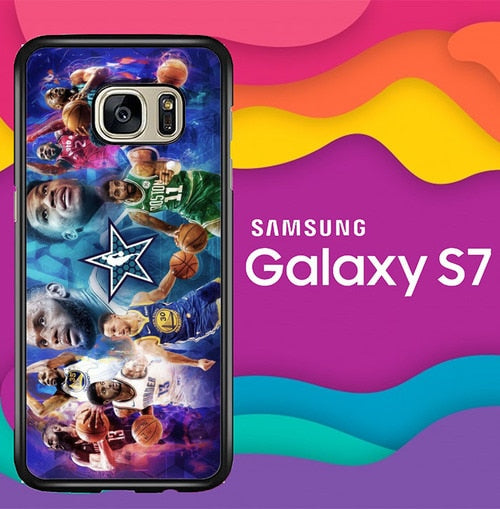 NBA All Star Game 2019 Z4461 coque Samsung Galaxy S7