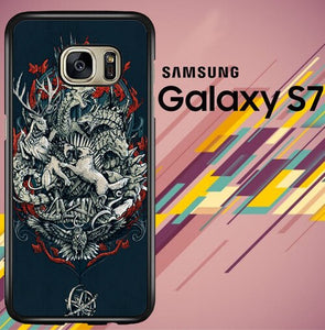 Game Of Thrones 8 Z4537 coque Samsung Galaxy S7