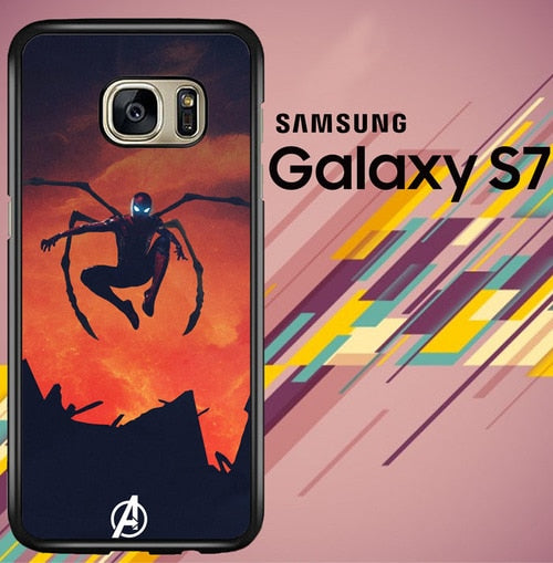 spider man iron spider Z4763 coque Samsung Galaxy S7