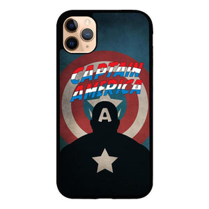 captain america minimalist Z3567 iPhone 11 Pro coque