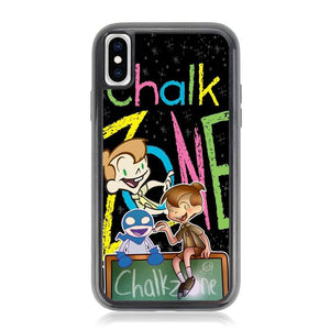 chalk zone Z3683 iPhone X, XS coque