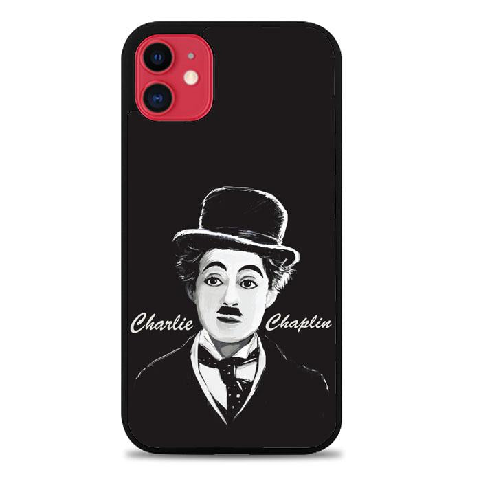 charlie chaplin Z3686 iPhone 11 coque