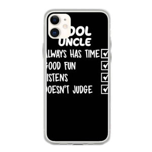 cool uncle funny coque iphone 11