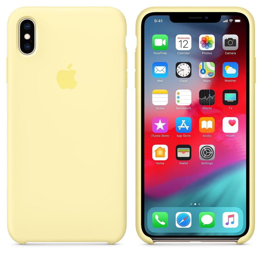 coque apple iphone xs max silicone