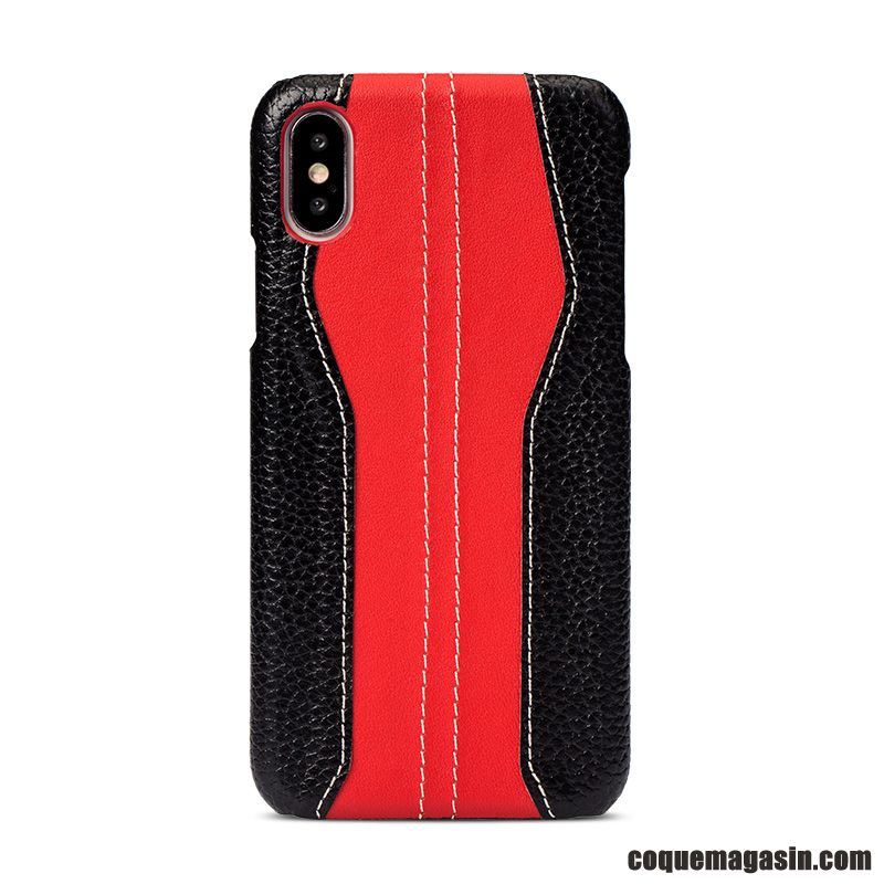 coque etui iphone xs corail