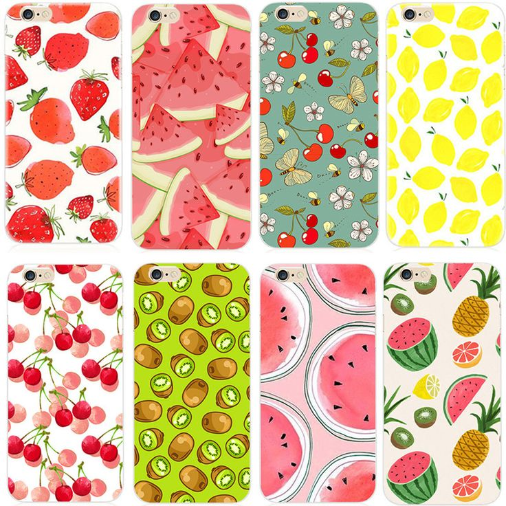 coque fruit iphone 6