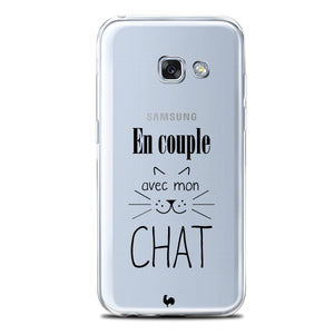 coque galaxy a5 chat