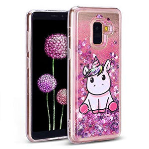 coque galaxy a8 2018 licorne