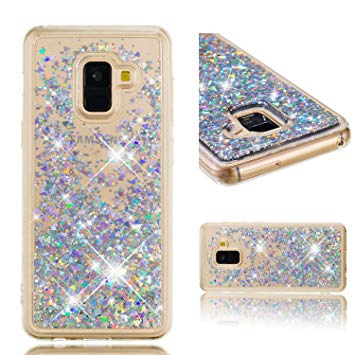 coque galaxy a8 paillette
