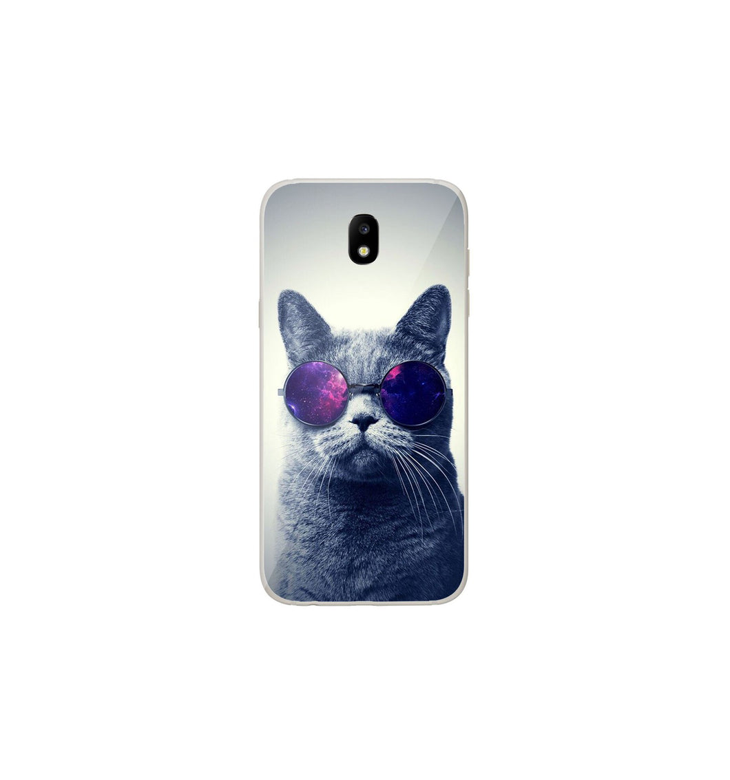 coque galaxy j3 2017 chat