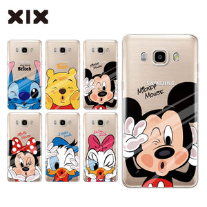 coque galaxy j7 disney