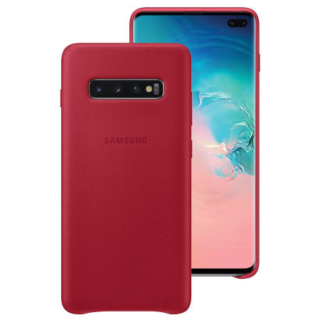 coque galaxy s10 rouge