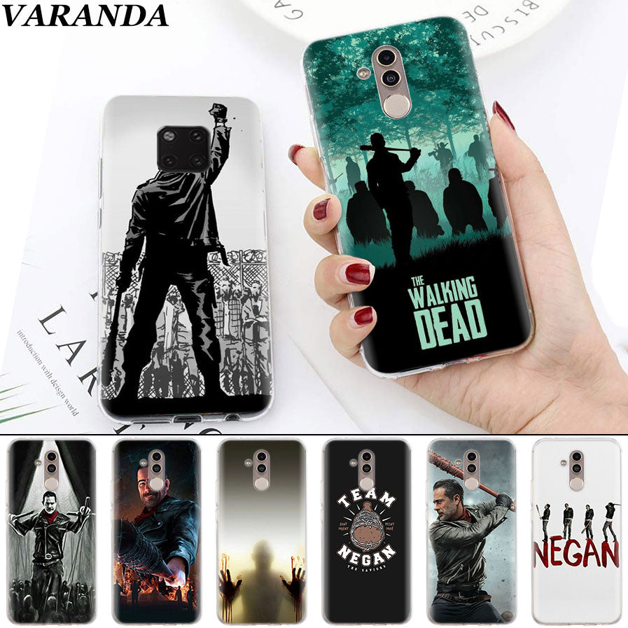 coque huawei p20 lite the walking dead