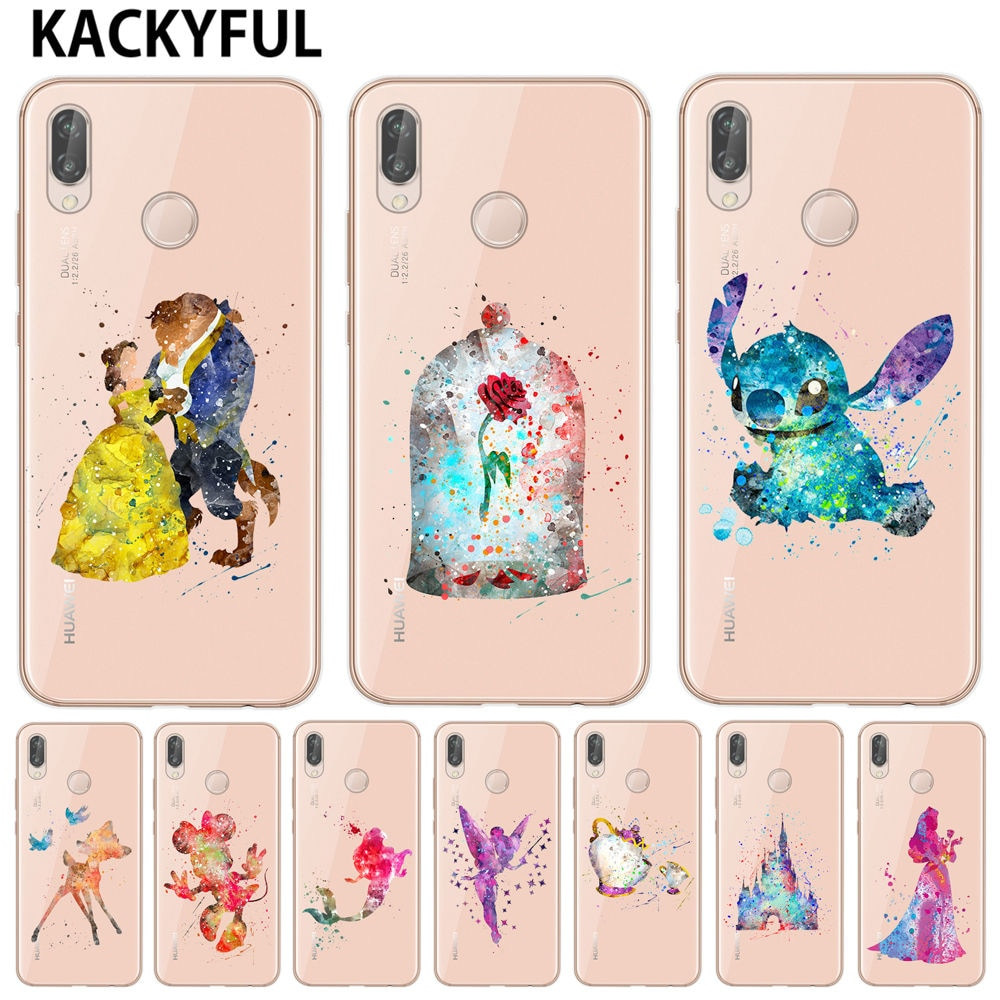 coque huawei p30 silicone disney or lite