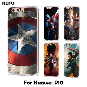 coque huawei p8 captain america