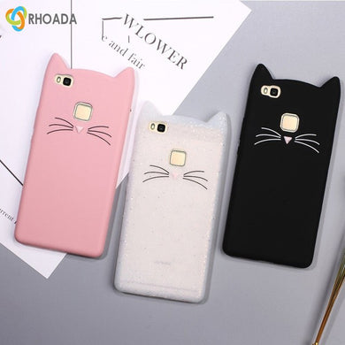 coque huawei p8 lite 2017 chat silicone