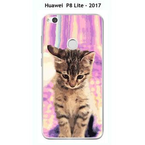 coque huawei p8 lite 2017 tigre chat