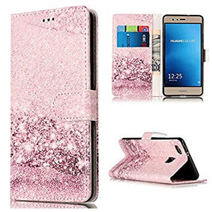 coque huawei p9 lite case silicon glitter cover