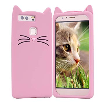 coque huawei p9 lite silicone chat