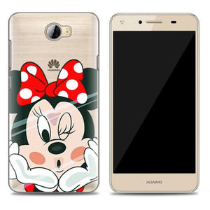 coque huawei y5 ii rose gold