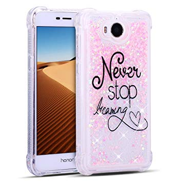 coque huawei y6 2017 paillette