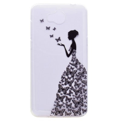 coque huawei y6 2017 papillons