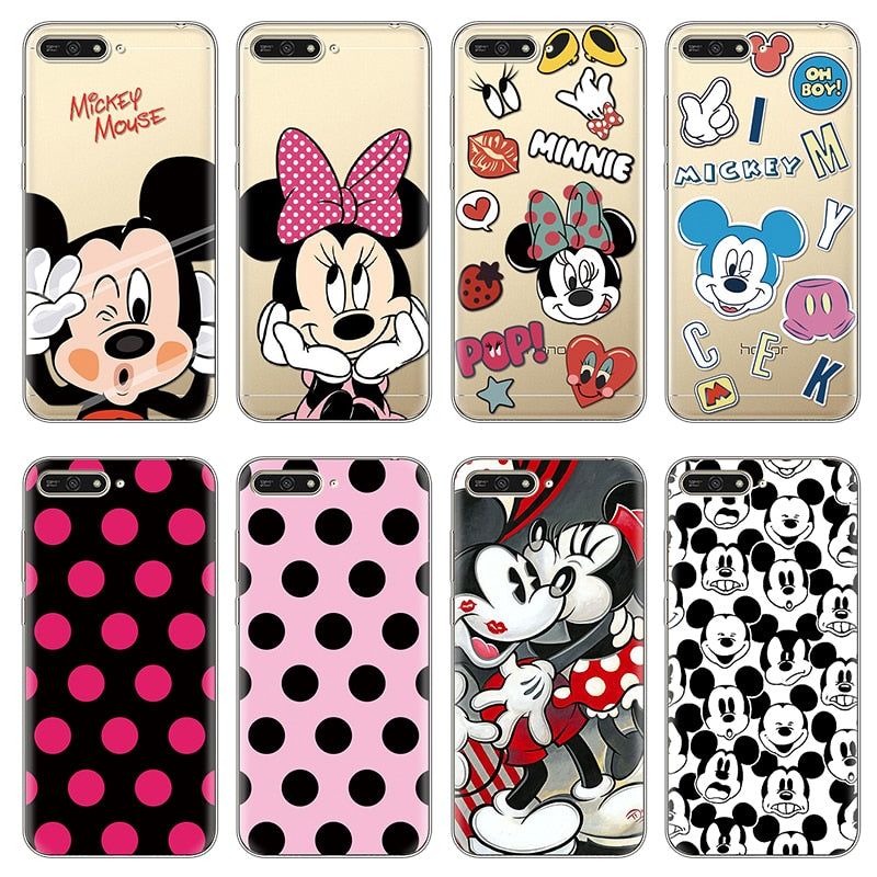 coque huawei y6 2019 minnie