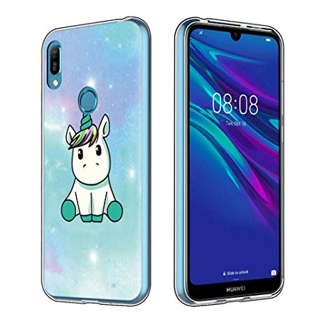 coque huawei y6 2019 silicone transparent