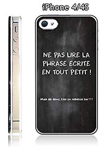 coque iphone 4 citation