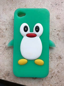 coque iphone 4 pingouin