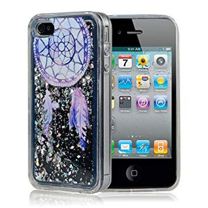 coque iphone 4 silicone paillette