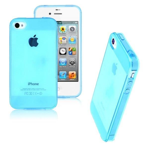 coque iphone 4 silicone transparent