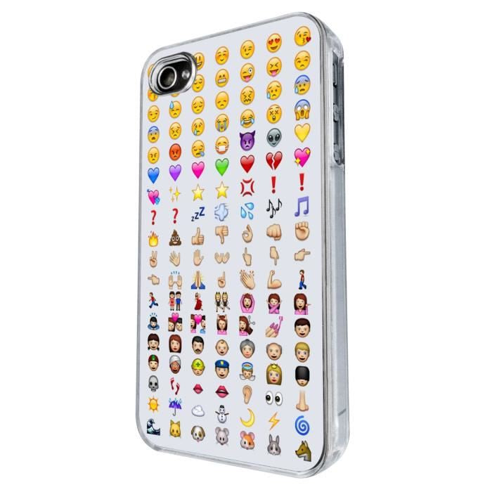 coque iphone 4 smiley