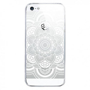 coque iphone 4 trabsparent blanc