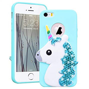 coque iphone 5 3d licorne
