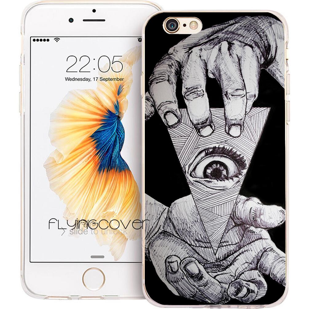coque iphone 5 illuminati