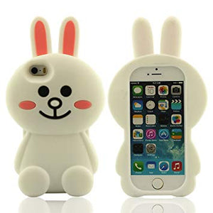 coque iphone 5 lapin blanc