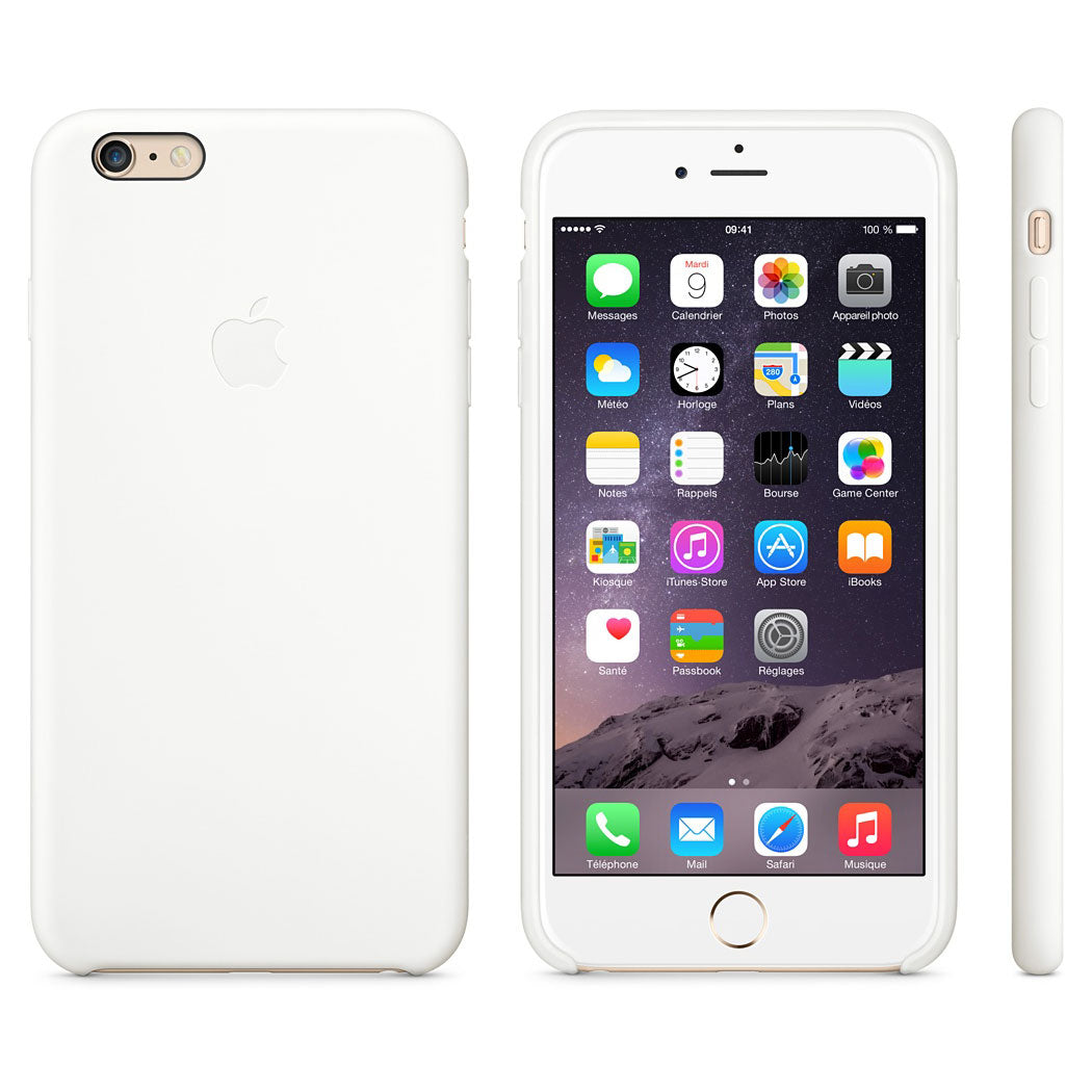 coque iphone 6 plus apple blanc