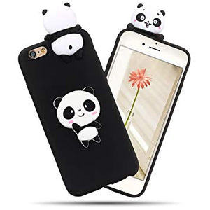 coque iphone 6 silicone panda