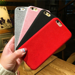 coque iphone 6 suede